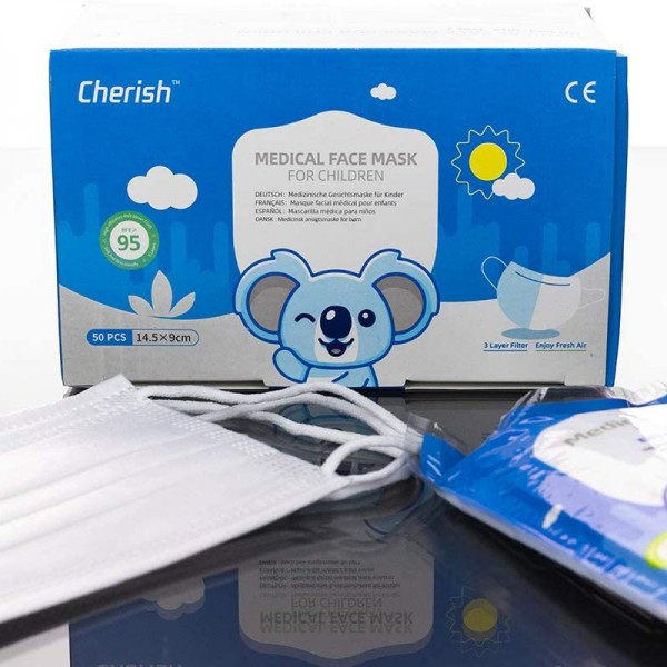 Medizinische Masken für Kinder